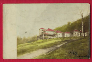 Hansford, WV, rppc SHELTERING ARM HOSPITAL, photo by A Schroeder, ca 1910, VF