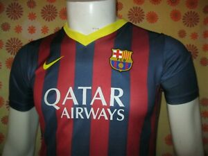 Ancien MAILLOT NIKE FC BARCELONA BARCA #8 ANDRES INIESTA TS Camiseta Barcelone