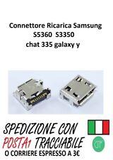 Connettore di ricarica Samsung s5360 s3350 chat 335 galaxy y