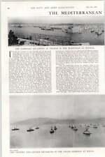 1902 The Nautilus Tall Ships Plymouth Sound Malta Harbour