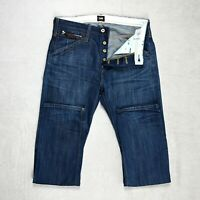Mens LEE Sundance Jeans Relaxed Fit Straight leg Button Fly Size W32 L32 denim