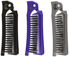Goody Folding Brush and Comb Colors May Vary 1 ea (Pack of 3) Free shipping NEW