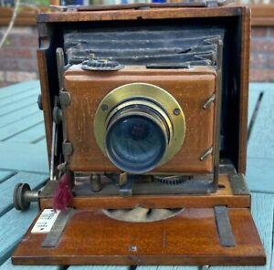 J. Lizars Challenge Model A Quarter-Plate Camera