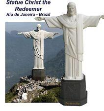 Statue Christ the Redeemer Resin Rio de Janeiro Original Brazil RJ