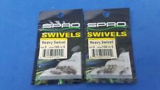 Spro Heavy Swivels Size #3 150lb.Test 2 Pack Lot New Premium Fishing Product