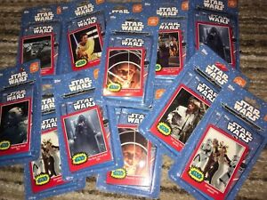 STAR WARS Journey To The Force Awakens Topps 2015 2 Pack Set One Exclusive Card