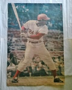 1970 TONY PEREZ Sports Illustrated 24x36 POSTER With Repairs CINCINNATI REDS HOF