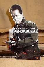 Expendables 2 Arnold Schwarzenegger Color Figure Tabletop Display Standee 10.5""