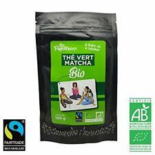 Matcha Thé Vert Poudre Vrac Certifié Bio Commerce Equitable 100g Super Aliment