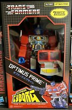 "Transformers Super Cyborg 12"" Optimus Prime Figure Super7 G1"