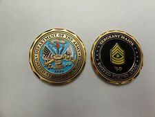 CHALLENGE COIN SERGEANT MAJOR UNITED STATES ARMY E-9 SGM REAL NICE HIGH QUALITY