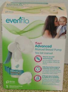 NEW Evenflo 5-Ounces volume Capacity Advanced Manual Breast Pump