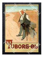 Historic Tuborg Beer, 1900 Advertising Postcard