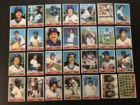 1979 Topps CHICAGO CUBS Complete TEAM Set BRUCE SUTTER Bobby MURCER Manny TRILLO