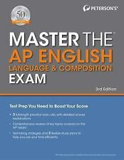 Master the Ap English Language and Composition Exam by Peterson's (2017,.
