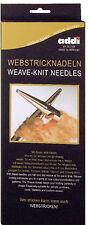 addi Aiguilles de tissage et tricot Aiguille creuse Stricken (tricoter)+Tisser