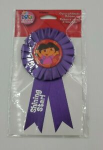 Dora the Explorer Guest of Honor Ribbon Favor Purple Shining Star Party Supplies