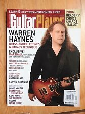 Guitar Player Magazine - Dec 2006 - Warren Hayes Somic Youth Kaki King ++
