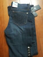 NWT Rock & Republic Kasandra Bootcut Dark Wash Double R Pockets Denim Jeans 8M