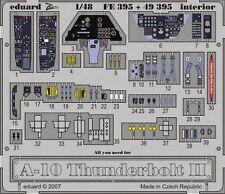 Eduard 1/48 A-10 Thunderbolt II Interior for Hobby Boss # FE395