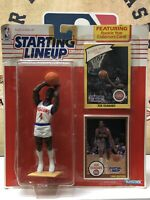 Kenner Starting Lineup Joe Dumars 1990 Detroit Pistons NBA Sports Figure HOF!!🔥