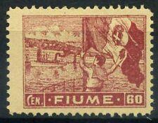 Fiume 1919 Sass. A43 wwf Nuovo ** 80% Allegorie e vedute