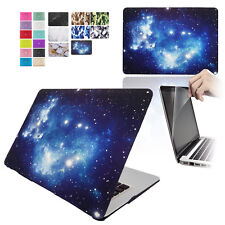 Rubberized Hardshell Hard Case, Cover with Screen Protector for Apple MacBooks