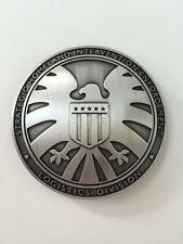 THE AVENGERS AGENTS OF SHIELD  METAL BADGE FULL SIZE-1646
