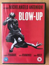Blow Up 1966 Antonioni British Swing Sixties London Photographer Classic UK DVD