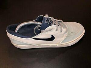 Nike SB Stefan Janoski Leather Gray Mist 616490-041 Mens Size 10.5 Skateboarding