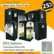 More details for mars hydro indoor grow tent 1680d silver mylar bud box hydroponics dark room