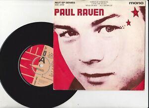 "Paul Raven  Tower Of Strength + 3 Promo EP 7"" VINYL 45  EMI 2855"