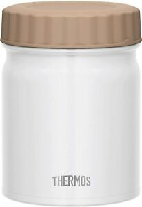 New Thermos vacuum insulation soup jar White 500ml JBT-500 Japan