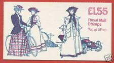 Fr4b £1.55 Costumes 6 Rm Decimal Booklet