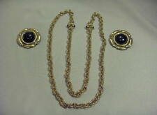 Vintage Jewels By Park Lane Jewelry Gold,Black Necklace