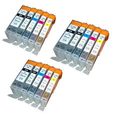 15PK Bulk Ink PGI 750 XL CLI 751 XL For Canon Ink Cartridge PIXMA MX727 MX927