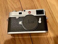 Leica M10 24 Mp Digital Camera - Silver *Mint* w/ original box & accessories