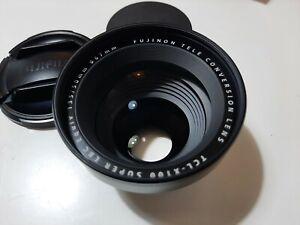 Fujinon Fuji TCL-X100 Equiv.135/50mm Tele Conversion Lens For X100 Series
