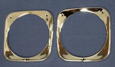 1964-1966 CHEVROLET PICK-UP TRUCK FRONT CHROME HEADLIGHT BEZEL SET NICE QUAILTY