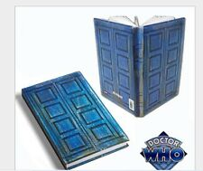 Doctor Who Blue Hard Cover Notebook River Song's TARDIS Journal Diary Note Book