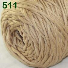 Sale New 400gr Cone Yarn Soft Cotton Super Bulky DIY Hand Knit Wrap Shawls 11