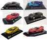 Lot de 6 Voitures de Sport Bugatti Ferrari Lambo Aston 1/43 IXO Supercar LSC6