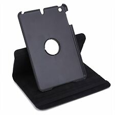 iPad  Pro Case  Black 12.9  PU Leather  + Screen  Protector