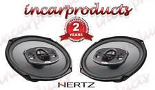 """Hertz Uno X690 6x9 6 x 9"""" Coaxial 4 way Car Audio Stereo Speaker 340w"""