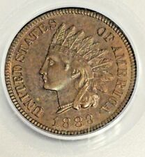 1883 1-cent PCGS Proof Indian PR64RB Penny Red Brown