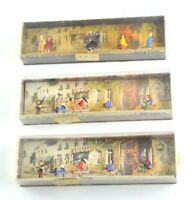 Small Miniature People Vtg HO Ready To Use Replacement Part Lot Merten 2209 2197