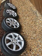 Mercedes C Class Coupe AMG Alloy Wheels And Tyres Fully Refurbished