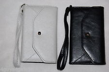 CELL PHONE WALLET CASE Samsung Galaxy S4 LOT Black & Silver Wristlet