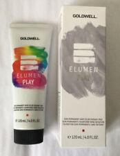 Goldwell Elumen Play Metallic Silver Semi-Permanent Hair Color 4.0 oz ((C13-16)