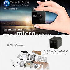 Wireless Wifi Mini Portable Home HD Projector DLP Phone Apple Androids Projector